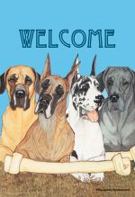 Great Dane Garden Flag 12.5 x 18 in