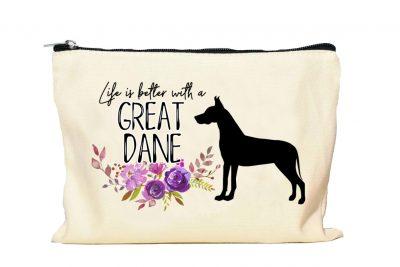 Great Dane Makeup Bag