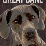 Great Dane Sign – I Love My 5×10 1