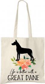 Great Dane Life is Better Tote