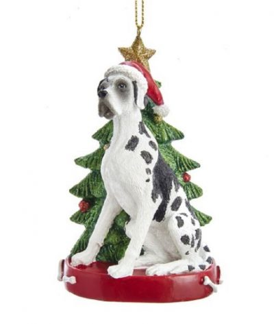 Great Dane Tree Ornament