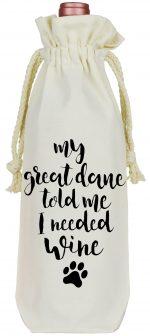 Great Dane Wine Bag