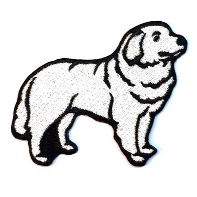 Great Pyrenees Iron on Embroidered Patch