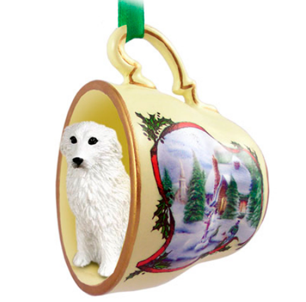 Great Pyrenees Ornament Teacup