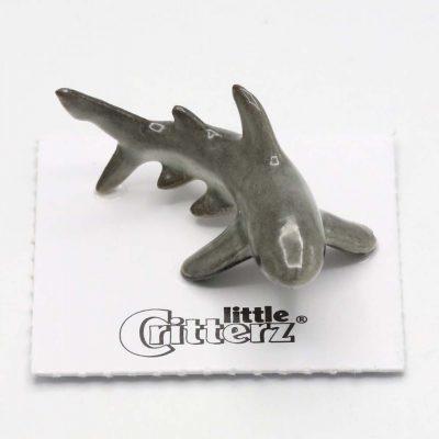 Great White Shark Porcelain Figurine