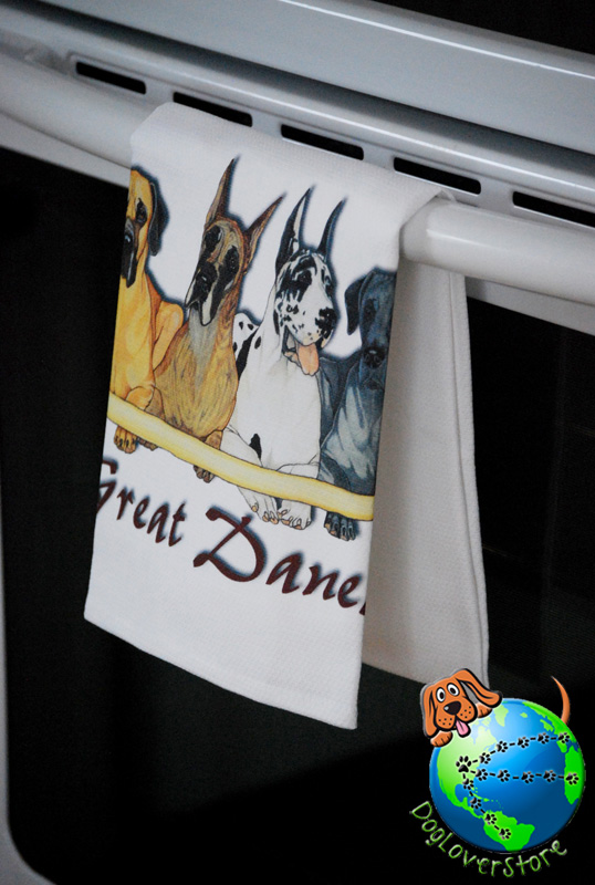 Great Dane Kitchen Hand Towel