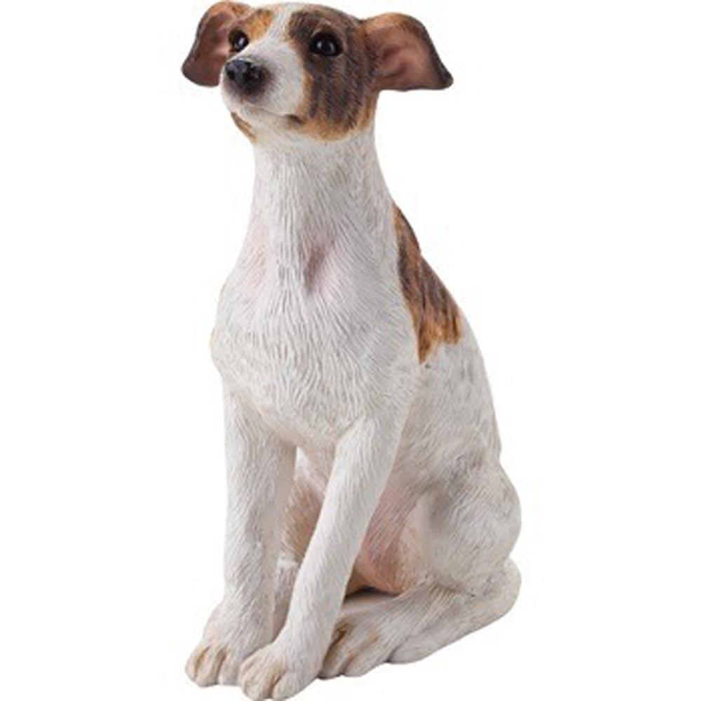 Greyhound Figurine Hand Painted - Sandicast