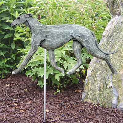 Greyhound Garden Stake Blue