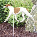 greyhound-garden-stake-fawn-white