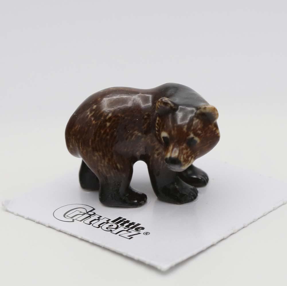 Grizzly Bear Porcelain Figurine