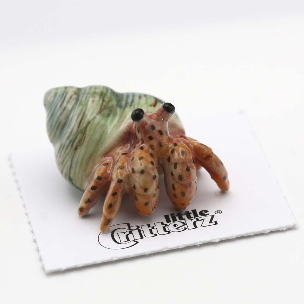 Hermit Crab Porcelain Figurine