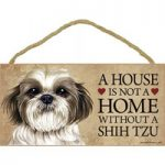 A House is Not a Home Without a Dog Signs