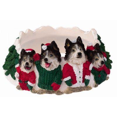 husky-christmas-candle-holder