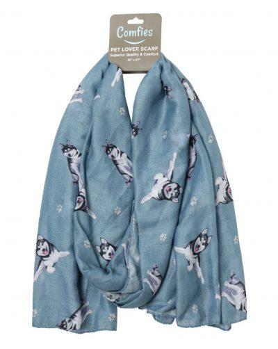 Husky Scarf -Lightweight Cotton Polyester