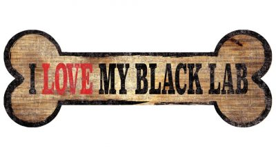 Black Labrador Sign – I Love My Bone 3×10 1