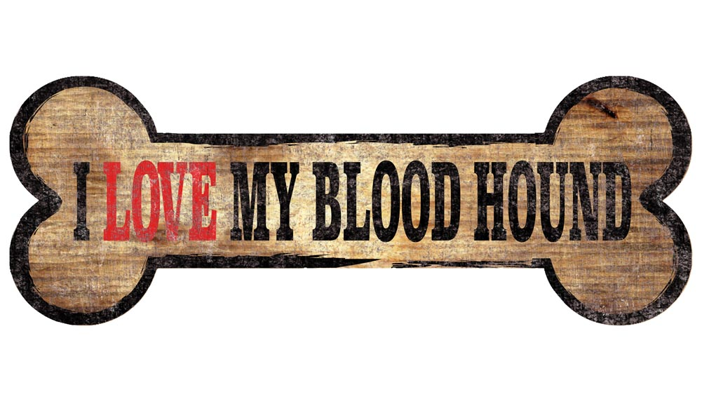 Bloodhound Sign - I Love My Bone 3x10
