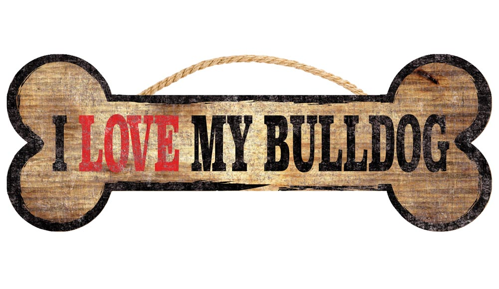 Bulldog Bone Sign