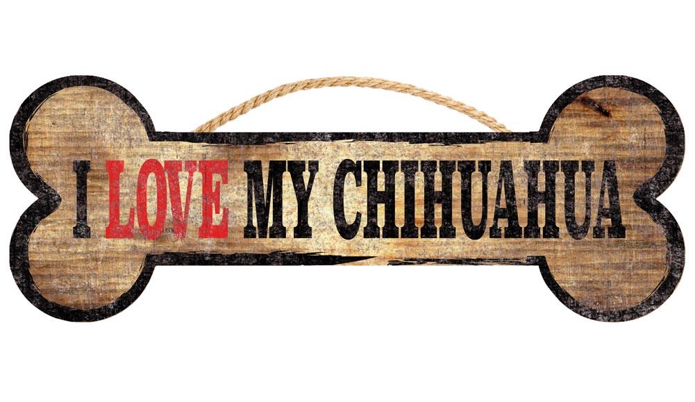 Chihuahua Bone Sign