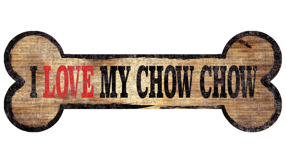 Chow Chow Sign - I Love My Bone 3x10