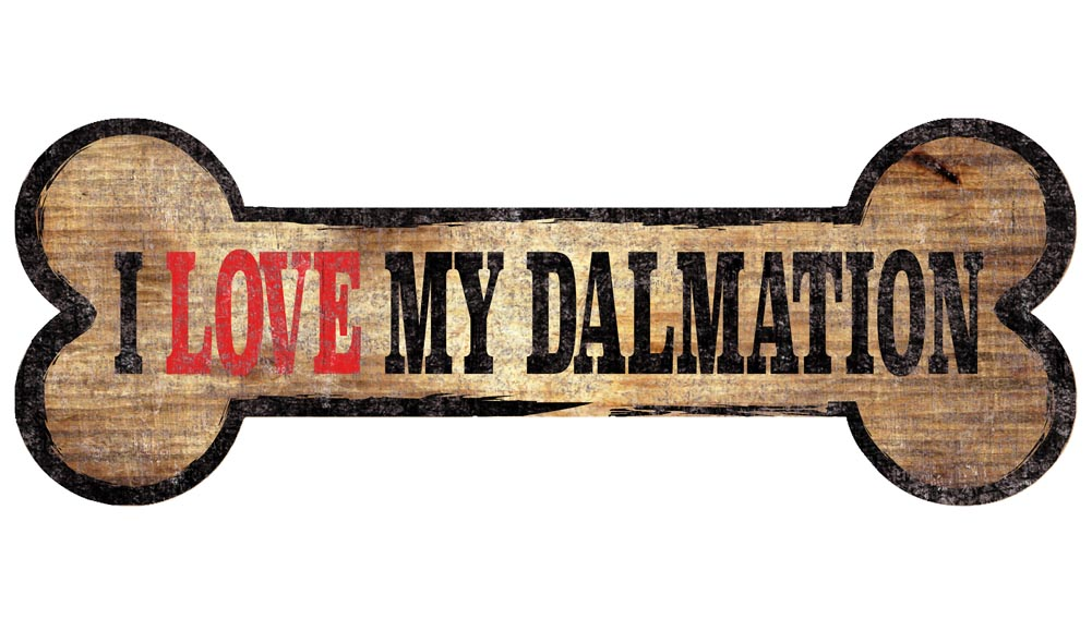 Dalmatian Sign - I Love My Bone 3x10