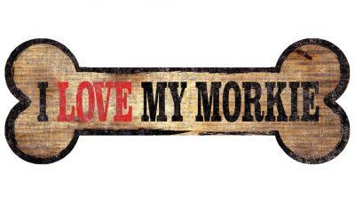 Morkie Sign - I Love My Bone 3x10