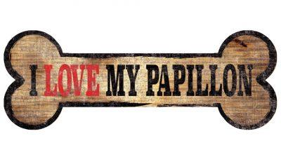 Papillon Sign – I Love My Bone 3×10 1