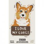 I Love My Dog Bumper Stickers