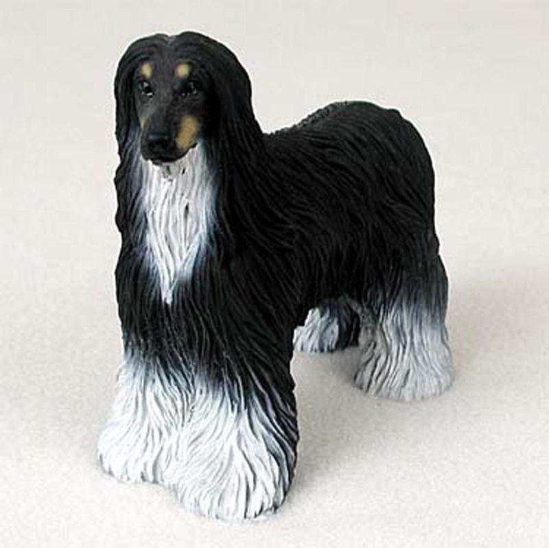 Afghan Hound Figurine - Black