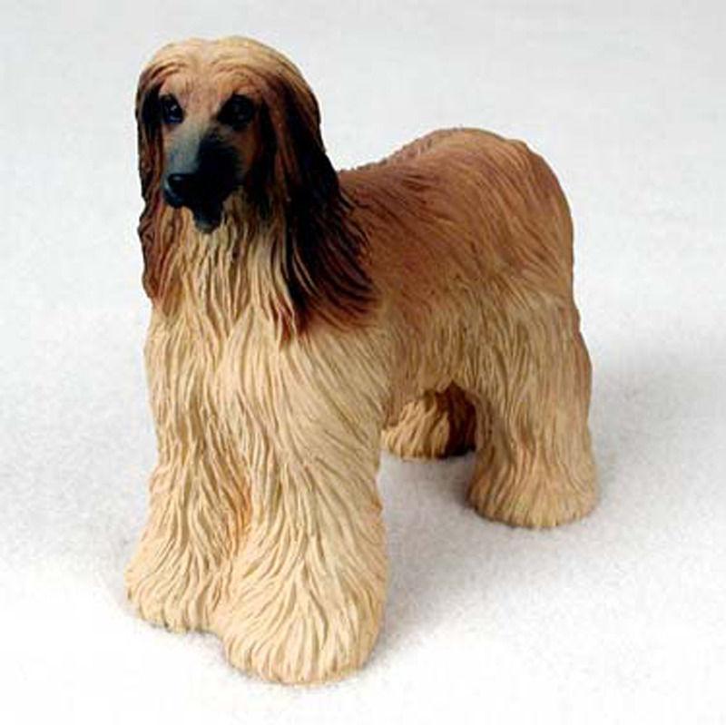 Afghan Hound Figurine - Tan