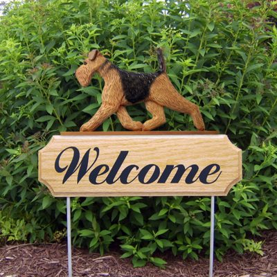 Airedale-Dog-Breed-Oak-Wood-Welcome-Outdoor-Yard-Sign-400706772250