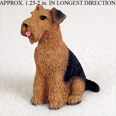 Airedale-Mini-Resin-Hand-Painted-Dog-Figurine-Statue-Hand-Painted-400482580653