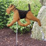 Airedale-Outdoor-Garden-Dog-Sign-Hand-Painted-Figure-400688292569
