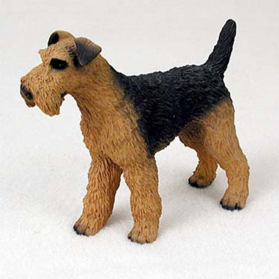 Airedale-Terrier-Hand-Painted-Dog-Figurine-Statue-400590456694