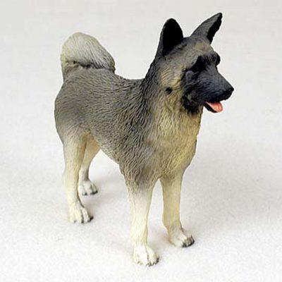 Akita-Hand-Painted-Collectible-Dog-Figurine-180675492388