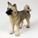Akita-Hand-Painted-Collectible-Dog-Figurine-Fawn-180741107413