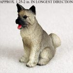 Akita-Mini-Resin-Hand-Painted-Dog-Figurine-Statue-400249634828