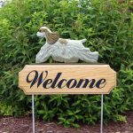 American-Cocker-Spaniel-Dog-Breed-Oak-Wood-Welcome-Outdoor-Yard-Sign-Brown-Parti-181404153268