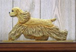 American-Cocker-Spaniel-Dog-Figurine-Sign-Plaque-Display-Wall-Decoration-Buff-400721982400