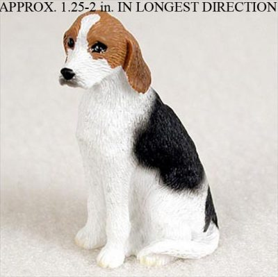 American-Fox-Hound-Mini-Resin-Hand-Painted-Dog-Figurine-181350379758