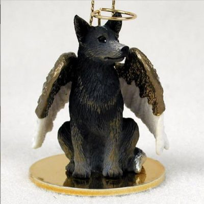 Australian-Cattle-Dog-Figurine-Angel-Statue-Blue-400314834425