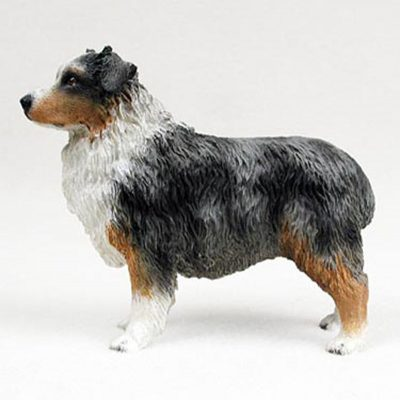Australian-Shepherd-Blue-Hand-Painted-Collectible-Dog-F-180638147692