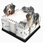 Australian-Shepherd-Dog-Breed-Acrylic-Note-Holder-Memo-Note-Pad-Made-in-USA-181225057988