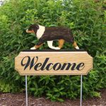 Australian-Shepherd-Dog-Breed-Oak-Wood-Welcome-Outdoor-Yard-Sign-Black-Tri-400706781350