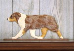 Australian-Shepherd-Dog-Figurine-Sign-Plaque-Display-Wall-Decoration-Red-Merle-181430758908