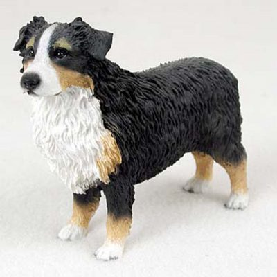 Australian-Shepherd-Tri-Color-Hand-Painted-Collectible-Dog-Figurine-400250769675