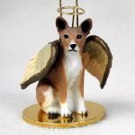 Basenji-Dog-Figurine-Angel-Statue-Hand-Painted-400322307974