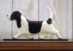 Basset-Hound-Dog-Figurine-Sign-Plaque-Display-Wall-Decoration-BlackWhite-181430759906