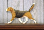 Beagle-Dog-Figurine-Sign-Plaque-Display-Wall-Decoration-Tri-400721984829