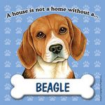 Beagle-Dog-Magnet-Sign-House-Is-Not-A-Home-400611930889