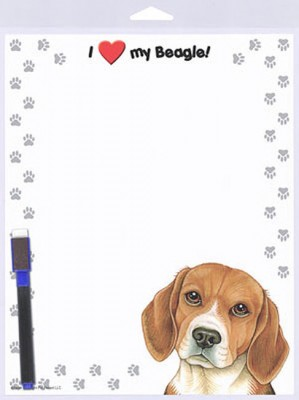 Beagle-Dog-Memo-Board-Magnetic-Sign-8x10-400293532367